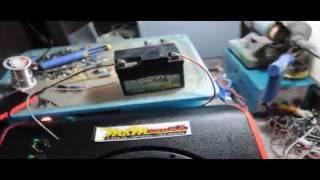 getlinkyoutube.com-เครื่องเสียงตระกร้าหน้าเวฟ110i BY ช่างมิ้น M&M Sound