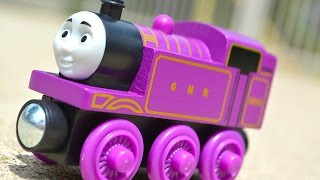 getlinkyoutube.com-2015 Thomas Wooden Railway RYAN Toy Train Review Legend Of The Lost Treasure Fisher Price