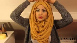 getlinkyoutube.com-How To Style Your INAYAH Scarf   Hijab Tutorial #4