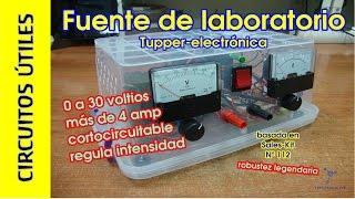 getlinkyoutube.com-Circuitos Útiles. 05. Fuente de alimentación 30V 4A #TupperElectrónica