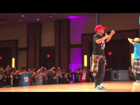 Parris of Request Crew at Urban Moves 2011 Hip Hop International