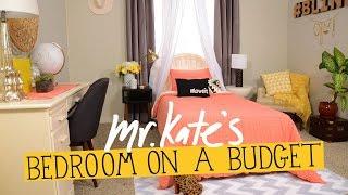 Bedroom on a Budget! | DIY Home Decor | Mr Kate