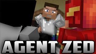 Minecraft: Batman and Flash vs AGENT ZED! (Minecraft Roleplay)