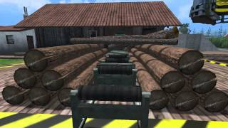 getlinkyoutube.com-FS 15 Placeable Sawmill - Plank Producing!!!