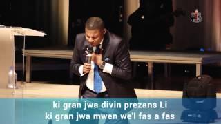 getlinkyoutube.com-La Communion du Saint Esprit - Creole Service - Tabernacle de Gloire - Pasteur Gregory Toussaint