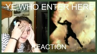 "getlinkyoutube.com-The 100 Reaction to ""Ye Who Enter Here"" 3x03"