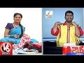 Savitri Funny Conversation With Bithiri Sathi   Weekend Teenmaar News   V6 News