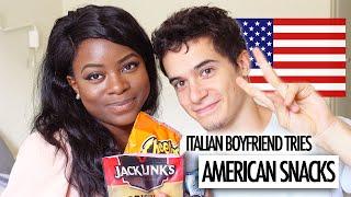 getlinkyoutube.com-ITALIAN BOYFRIEND TRIES AMERICAN SNACKS