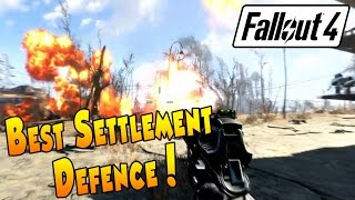 getlinkyoutube.com-Fallout 4 - Best Settlement Defence