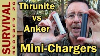 getlinkyoutube.com-Thrunite C2 Mini PowerBank vs Anker Powercore Mini - Gift Ideas 2016