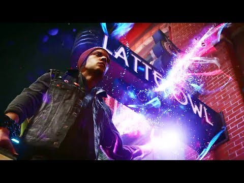 PS4 - inFAMOUS Second Son Neon Trailer