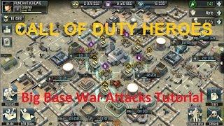"CoD Heroes- Big CC10 Alliance War Attacks - ""The syndicates"""