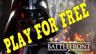 getlinkyoutube.com-PLAY STAR WARS BATTLEFRONT FOR FREE