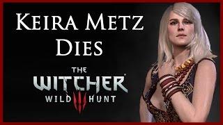 getlinkyoutube.com-Witcher 3: Killing Keira Metz and Destroying Alexander's Notes