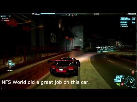 NFS World - Audi R8 LMS Ultra [REVIEW]