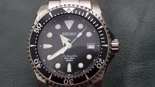 getlinkyoutube.com-Best Watch EVER - Seiko Shogun SBDC007 Titanium
