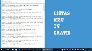 getlinkyoutube.com-Ver tv de paga gratis fácil - como crear listas m3u para iptv 2016 - ios y android