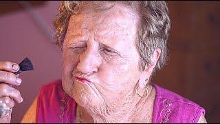 getlinkyoutube.com-Grandma's Everyday Makeup Tutorial
