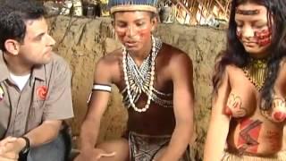 """getlinkyoutube.com-SBT Repórter - Jornalista visita tribo e é """"batizado"""" por índios"""