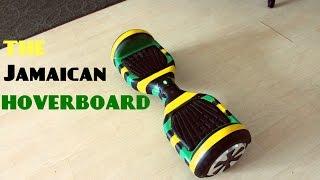 getlinkyoutube.com-Painting HoverBoard (Jamaican HoverBoard GiveAway)