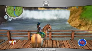 getlinkyoutube.com-The Saddle Club / Grand Galop (part 17) (Horse Game)
