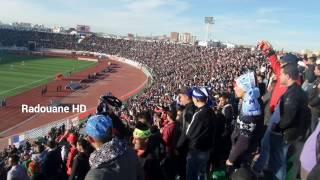 كل ما فعله انصار اتحا بلعباس ضد مولودية وهران موسم 2016/2017