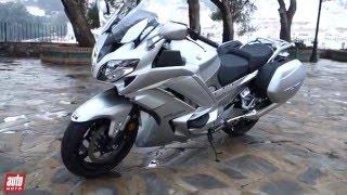 getlinkyoutube.com-2016 Yamaha FJR 1300 AE [ESSAI VIDEO] : Grand Mère se libère