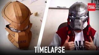 getlinkyoutube.com-Timelapse - Making Predator Bio-Mask | Dali DIY