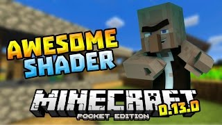AWESOME SHADER in 0.13.0!!! - Wavy, Shadows & MORE - Minecraft PE (Pocket Edition)