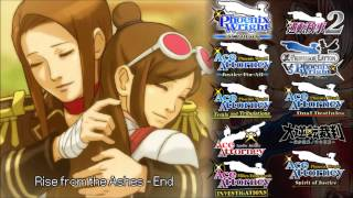 getlinkyoutube.com-Ace Attorney: All End/Credit Themes 2016