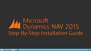 getlinkyoutube.com-Microsoft Dynamics NAV 2015 Installation