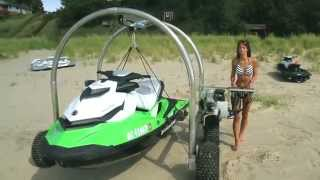 getlinkyoutube.com-Beach Rover - The Best Alternative to the Jet Ski Beach Dolly