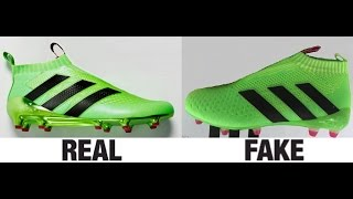 getlinkyoutube.com-How To Spot Fake Adidas ACE16+ Purecontrol Football Boots Authentic vs Replica Comparison