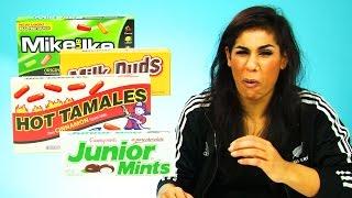Irish People Taste Test American Cinema Candy