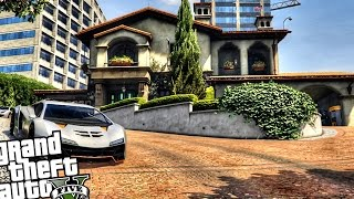 getlinkyoutube.com-Michaels Boss Hollywood Mansion - GTA 5 PC