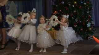 getlinkyoutube.com-Танец снежинок (младшая группа)