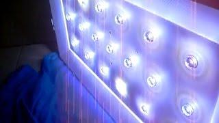 Memodifikasi / Mengganti Led Strip Backlight LED TV Dengan Led Satuan