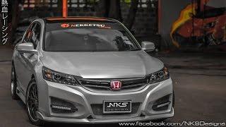 getlinkyoutube.com-ชุดแต่ง Honda Accord G9 ทรง Type R15 จาก Nekketsu Racing.
