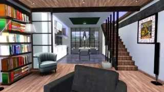 getlinkyoutube.com-The Sims 3 Modern House - Design for Couples 1 [HD] + DOWNLOAD