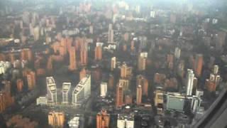 getlinkyoutube.com-Aterrizando en Medellin, Antioquia, Colombia (Aeropuerto Enrique Olaya Herrera) 1