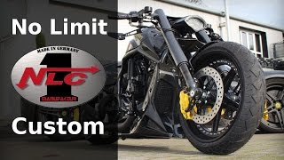 "getlinkyoutube.com-Harley Davidson V Rod ""Al Carbon"" by No Limit Custom | Motorcycle Muscle Custom"