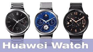 getlinkyoutube.com-Huawei Watch: обзор умных часов