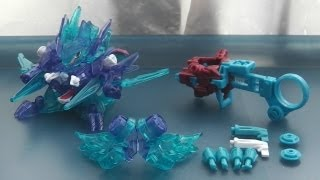 getlinkyoutube.com-B-Daman Review! CB71 Garuburn DX Version-UP Set 2 - BLAST ARM & MACH CORE!
