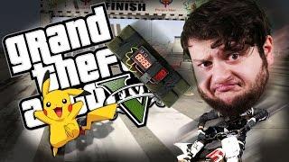 getlinkyoutube.com-GTA 5 PC Online Funny Moments - PIKACHU VS PROXIMITY MINES! (Custom Games)