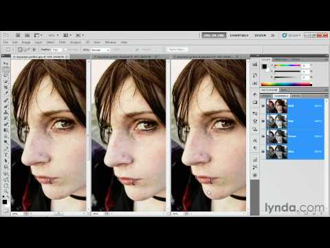 Converting an image to grayscale-Photoshop CS5 Tutorial
