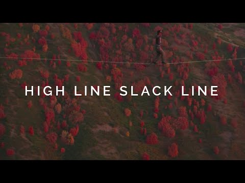 High Line Slack Line with Good Line