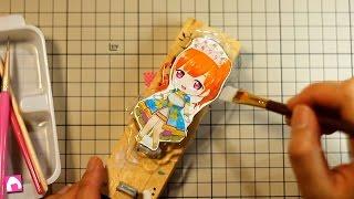 getlinkyoutube.com-【作業動画】手作りアクリルキーホルダー DIY