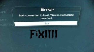 getlinkyoutube.com-Xbox One Advanced Warfare: Lost connection to host server FIX
