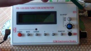 Тест МФГ  FG-100 DDS