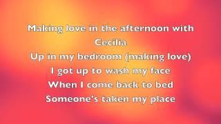Simon & Garfunkel - Cecilia (With Lyrics)